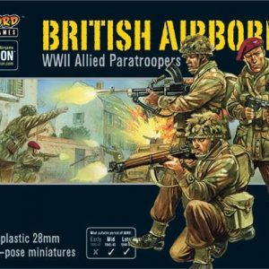 Warlord Games Bolt Action  Great Britain (BA) British Airborne WWII Allied Paratroopers - 402011009 - 5060393706205