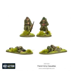 Warlord Games Bolt Action  France (BA) French Army Casualties - 403015504 - 5060572501683
