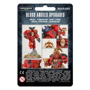 Games Workshop Warhammer 40,000  Blood Angels Blood Angels Upgrade Pack - 99070101069 - 5011921152810