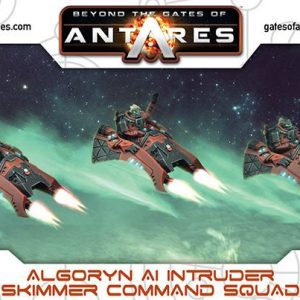 Warlord Games Beyond the Gates of Antares  Algoryn Algoryn AI Intruder Skimmer Command Squad - 502411003 - 5060393705673