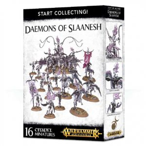 Games Workshop Warhammer 40,000 | Age of Sigmar  Chaos Daemons Start Collecting! Daemons of Slaanesh - 99129915040 - 5011921088201