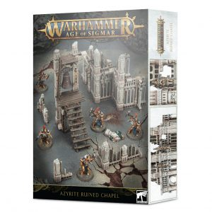 Games Workshop   Age of Sigmar Terrain Age of Sigmar: Azyrite Ruined Chapel - 99120299065 - 5011921135073
