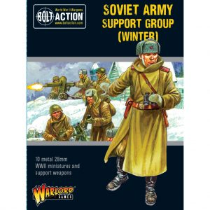 Warlord Games Bolt Action  Soviet Union (BA) Soviet Army (Winter) Support Group - 402214005 - 5060572503014