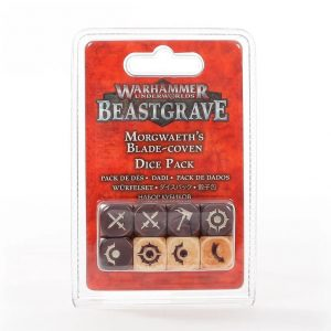 Games Workshop Warhammer Underworlds  Warhammer Underworlds Warhammer Underworlds: Morgwaeth's Blade-Coven Dice Set - 99220712002 - 5011921133697