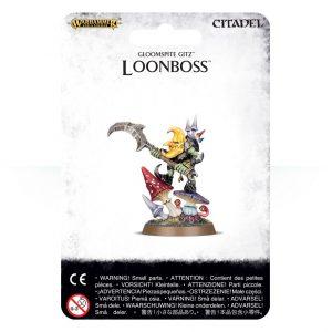 Games Workshop (Direct) Age of Sigmar  Gloomspite Gitz Gloomspite Gitz Loonboss - 99070209006 - 5011921076673