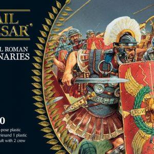 Warlord Games Hail Caesar  Imperial Romans Imperial Roman Legionaries (plus Scorpion) - WGH-IR-01 - 5060200842676