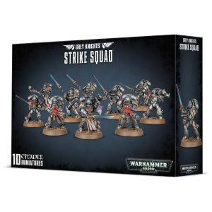 Games Workshop Warhammer 40,000  Grey Knights Grey Knights Strike Squad - 99120107013 - 5011921085774