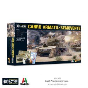 Warlord Games Bolt Action  Italy (BA) Italian Carro Armato / Semovente - 402018005 - 5060572502994