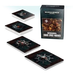 Games Workshop Warhammer 40,000  Chaos Space Marines Datacards: Chaos Space Marines - 60220102007 - 5011921114214
