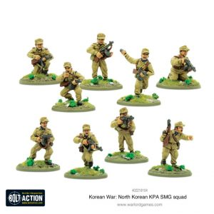 Warlord Games Bolt Action  Korean War (1950-1953) North Korean KPA SMG Squad - 402218104 - 5060572503731