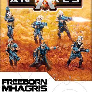 Warlord Games Beyond the Gates of Antares  Freeborn Freeborn Mhagris Feral Squad - WGA-FRB-05 - 5060393702115