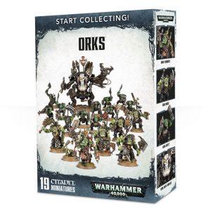 Games Workshop Warhammer 40,000  Orks Start Collecting! Orks - 99120103048 - 5011921088485