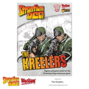 Warlord Games Strontium Dog  Strontium Dog Strontium Dog: The Kreelers - 642215011 - 5060572502529