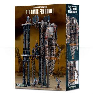 Games Workshop Warhammer 40,000  Genestealer Cults Sector Mechanicus: Tectonic Fragdrill - 99120199072 - 5011921113620