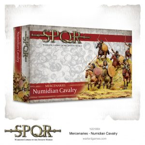 Warlord Games SPQR  SPQR SPQR: Numidian Cavalry - 152219004 -