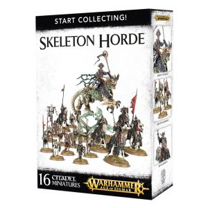 Games Workshop Age of Sigmar  Start Collecting! Age of Sigmar Start Collecting! Skeleton Horde - 99120207037 - 5011921073399