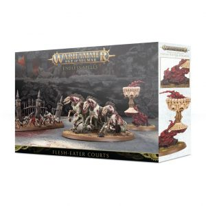Games Workshop Age of Sigmar  Flesh Eater Courts Endless Spells: Flesh-eater Courts - 99120207071 - 5011921118786