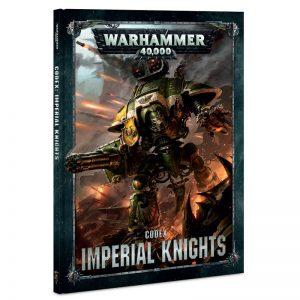 Games Workshop Warhammer 40,000  Imperial Knights Codex: Imperial Knights - 60030108013 - 9781788261647