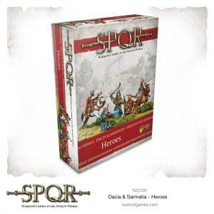 Warlord Games SPQR  SPQR SPQR: Dacia & Sarmatia Heroes - 152213001 - 5060572505445