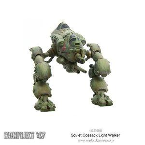 Warlord Games Konflikt '47  Soviet Union (K47) Soviet Cossack Light Walker - 452410802 - 5060393705000