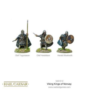 Warlord Games Hail Caesar  The Dark Ages Viking Kings of Norway - 103013112 -