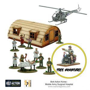 Warlord Games Bolt Action  Korean War (1950-1953) Mobile Army Surgical Hospital - 409918003 -