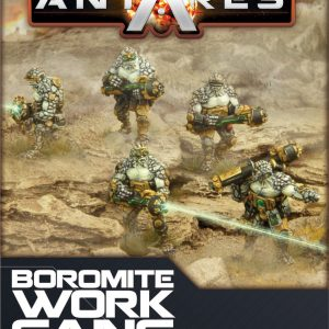 Warlord Games Beyond the Gates of Antares  Boromite Guilds Boromite Work Gang - WGA-BOR-03 - 5060393700142