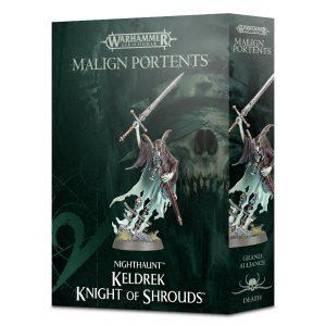 Games Workshop Age of Sigmar  Nighthaunts Keldrek, Knight of Shrouds - 99120207052 - 5011921098491