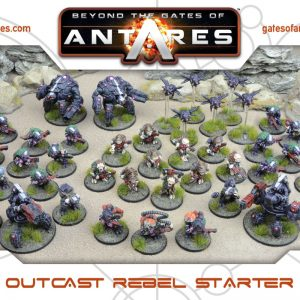 Warlord Games Beyond the Gates of Antares  Ghar Rebels Ghar Outcast Rebel Starter Army - 502415007 - 5060572500228