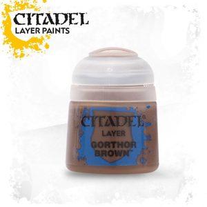 Games Workshop   Citadel Layer Layer: Gorthor Brown - 99189951047 - 5011921027767