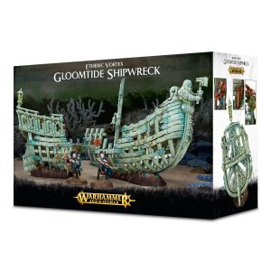 Games Workshop Age of Sigmar  Age of Sigmar Terrain Etheric Vortex: Gloomtide Shipwreck - 99120299050 - 5011921096862