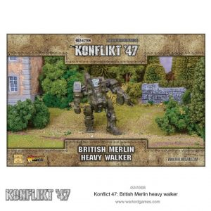 Warlord Games Konflikt '47  British (K47) Konflikt '47 British Merlin Heavy Walker - 452410608 - 5060572502673
