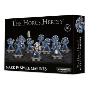 Games Workshop (Direct) Warhammer 40,000 | The Horus Heresy  The Horus Heresy Space Marines in Mark IV Armour - 99120101235 - 5011921092741
