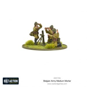 Warlord Games Bolt Action  Belgian Army (BA) Belgian Army medium mortar - 403017304 - 5060572501720