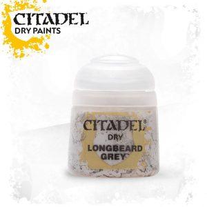 Games Workshop   Citadel Dry Dry: Longbeard Grey - 99189952012 - 5011921027149