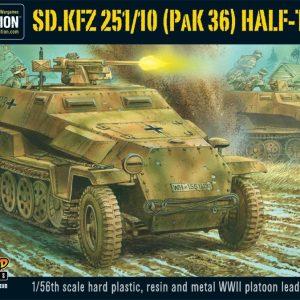Warlord Games Bolt Action  Germany (BA) Sd.Kfz 251/10 half-track (3.7cm PaK) (plastic) - WGB-WM-502 - 5060200847633