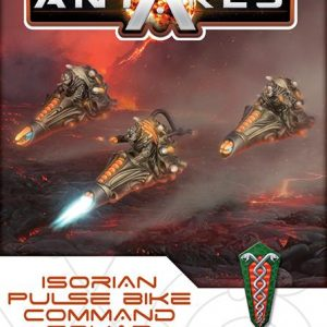 Warlord Games Beyond the Gates of Antares  Isorian Senatex Isorian Pulse Bike Command Squad - 502416003 - 5060393709398