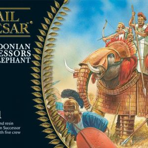 Warlord Games Hail Caesar  Classical World Macedonian Successor War Elephant - 102614002 - 5060393704607