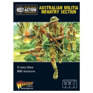 Warlord Games Bolt Action  Australia (BA) Australian Militia Infantry Section (Pacific) - 402215003 -
