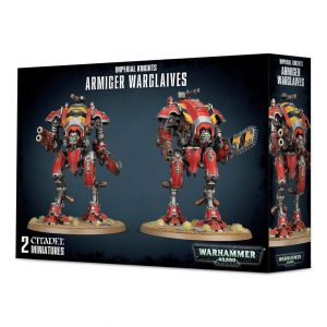 Games Workshop Warhammer 40,000  Imperial Knights Imperial Knights: Armiger Warglaives - 99120108019 - 5011921098484