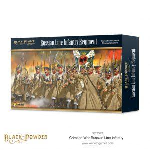 Warlord Games Black Powder  Crimean War Crimean War Russian Line Infantry - 302013801 - 5060572504349