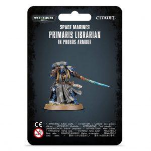 Games Workshop Warhammer 40,000  Space Marines Primaris Librarian in Phobos Armour - 99070101055 - 5011921142095