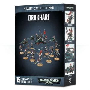 Games Workshop Warhammer 40,000  Drukhari Start Collecting! Drukhari - 99120112036 - 5011921094271