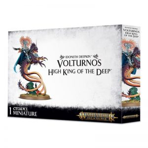 Games Workshop Age of Sigmar  Idoneth Deepkin Volturnos High King of the Deep - 99120219004 - 5011921097487