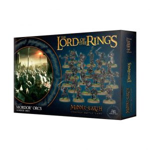 Games Workshop Middle-earth Strategy Battle Game  Evil - Lord of the Rings Lord of The Rings: Mordor Orcs - 99121462015 - 5011921109302