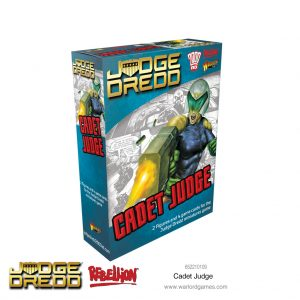 Warlord Games Judge Dredd  Judge Dredd Judge Dredd: Cadet Judge - 652210109 - 5060572505780