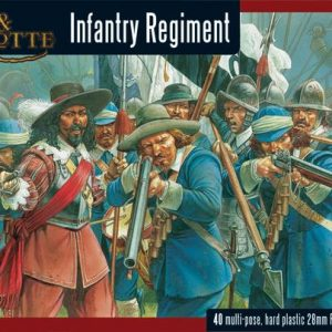 Warlord Games Pike & Shotte  The English Civil Wars 1642-1652 Pike & Shotte Infantry Regiment - WGP-22 - 5060393701347