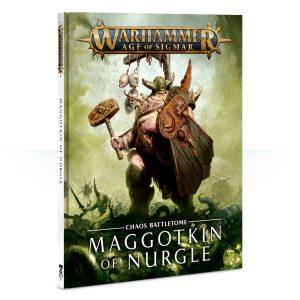 Games Workshop Age of Sigmar  Maggotkin of Nurgle Battletome: Maggotkin of Nurgle - 60030201019 - 9781788261296
