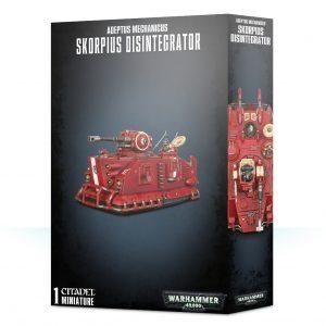 Games Workshop Warhammer 40,000  Adeptus Mechanicus Adeptus Mechanicus Skorpius Disintegrator - 99120116038 - 5011921118304