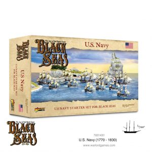 Warlord Games Black Seas  Black Seas Black Seas: US Navy Fleet (1770-1830) - 792014001 - 5060572505346